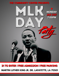 MARTIN LUTHER KING FLYER