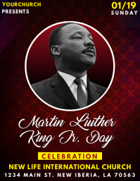 MARTIN LUTHER KING FLYER TEMPLATE