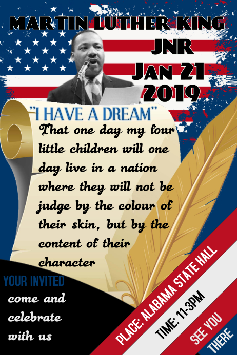 Martin Luther King Jr Day
