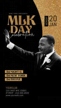 Martin Luther King Jr Day Instagram Template Indaba yaku-Instagram
