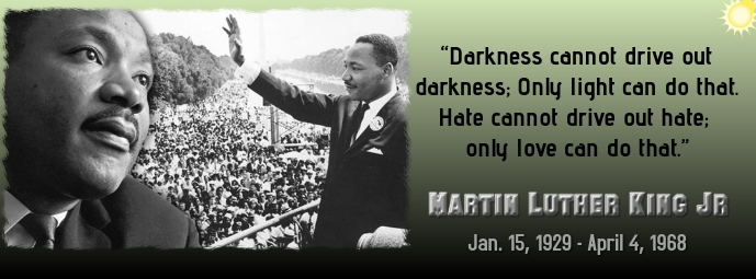 Martin Luther King Jr Facebook Cover Photo template