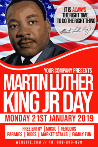 Free Martin Luther King Jr. Day Posters | PosterMyWall