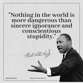 Martin Luther King Jr Quotes Nothing...