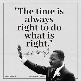 Martin Luther King Jr Quotes The Time Is...
