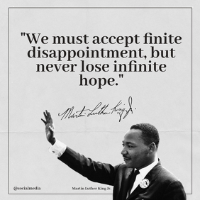 Martin Luther King Jr Quotes We Must Accept..