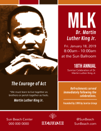 Martin Luther King Jr. Day Flyer