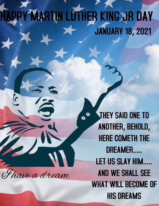 Martin Luther King Jr. Iflaya (Incwadi ye-US) template