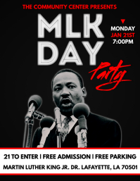 MARTIN LUTHER KING JR. FLYER