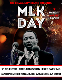 MARTIN LUTHER KING JR. MLK DAY FLYER