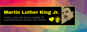 Martin Luther King Jr. Quote Facebook Cover template