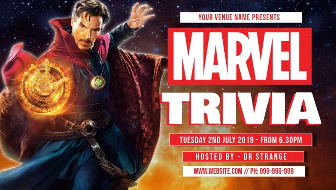 Marvel Trivia Facebook Cover