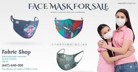 mask Image partagée Facebook template