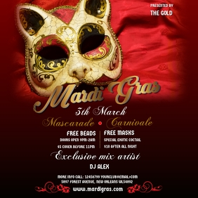 Masquerade Carnival Instagram