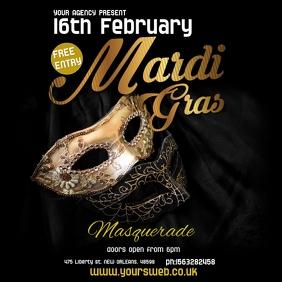 Masquerade Event instagram