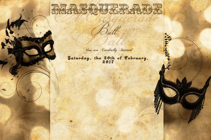 Masquerade Mask Antique Mardi Gras Ball Vintage Formal Party