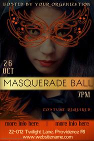 Masquerade Party Poster