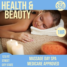 massage and beauty