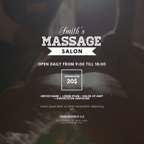Massage Beauty Spa Salon video design