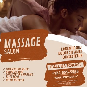 Massage Beauty Spa Salon Video Template