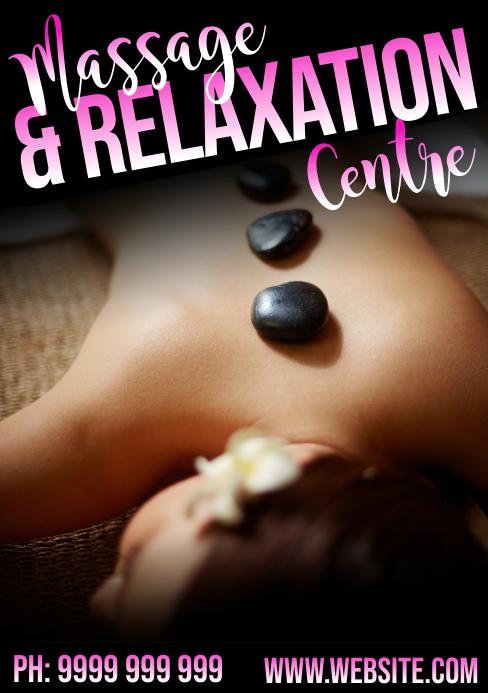 massage A5 template