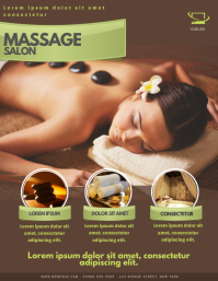 Massage Spa Salon Flyer Template