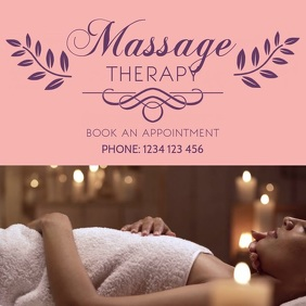 Massage Therapy instagram Post