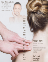 Massage Therapy Service flyer