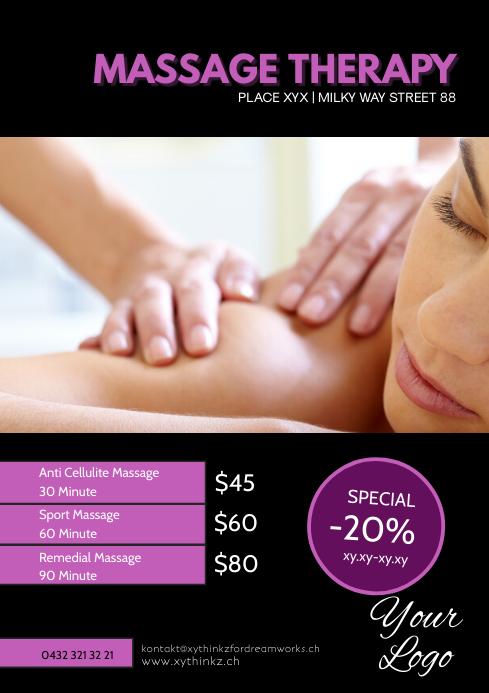 Massage Therapy Treatement therapist beauty
