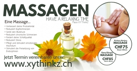 Massage Treatement Header Cover Relaxing Time