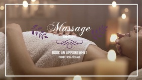 Massage Treatment Therapy Beauty Studio Ad