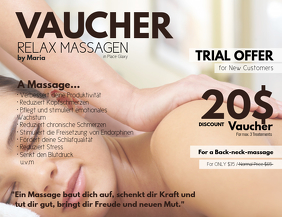 Massage Vaucher Trial Offer Special Discount