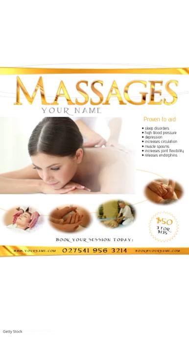 Massages Video Post