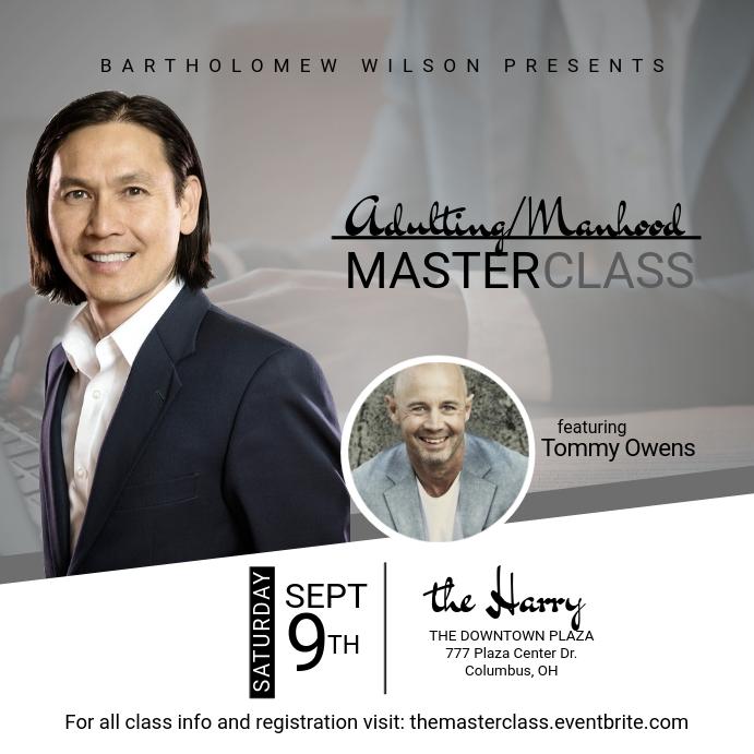 Master Class Instagram Post template