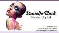 Master stylist business card