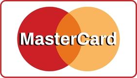 Mastercard Визитная карточка template