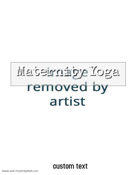 maternity yoga template