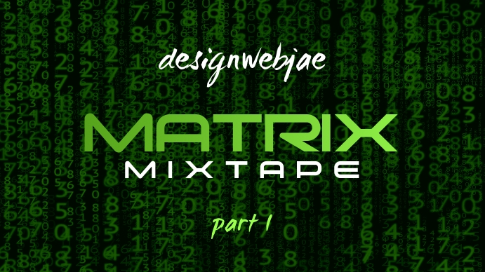 Matrix Youtube Thumbnail template