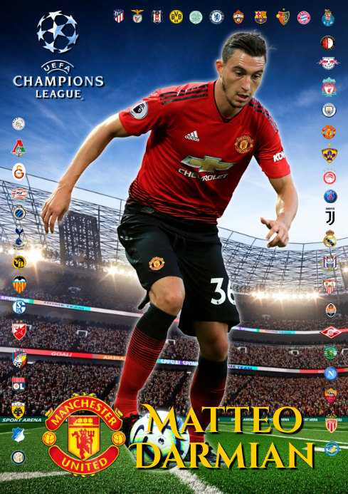 Matteo Darmian Man United