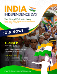 Maximalist Independence Day India Poster