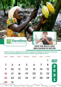May 2021 Calendar Template A2