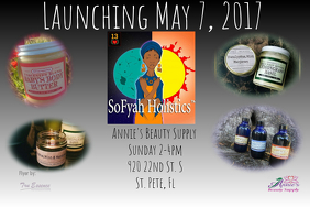 May 7th product launch. SoFyah Holistics