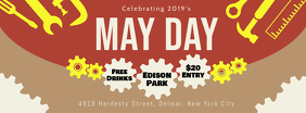 May Day Event Invite Banner Design