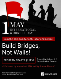 May Day Event Poster Design