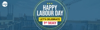 May day linkedin cover template