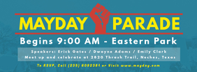 May Day Parade Facebook Banner