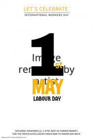 May Day Poster Template