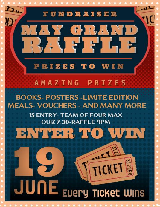 Grand raffle prizes