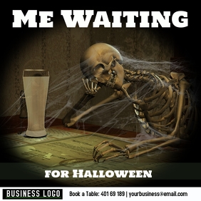 Me Waiting for Halloween