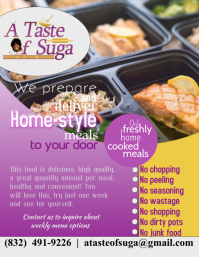Meal Prep Flyer