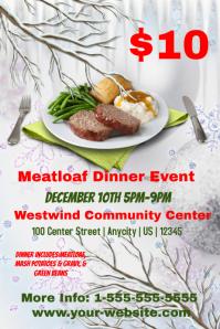 Meatloaf event Template